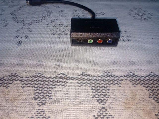 Adaptador 4 pinos S video Y Pr Pb/AV para S video - Foto 3