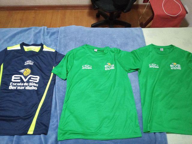Olympikus,  pacote com 3 camisas Olympikus Bernardinho Originais Novas Dry Fit