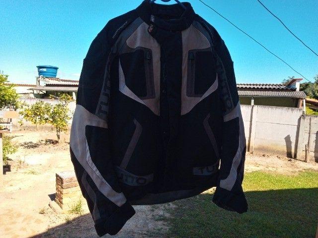 Jaqueta para motociclista tutto