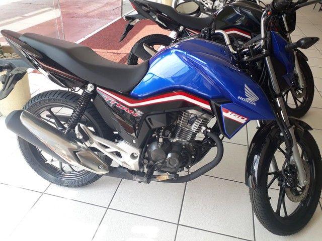 Moto Honda Titan 160 Entrada: 1.580 Financiada!!! - Foto 6