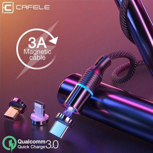 Cabo USB Magnético Tipo - C