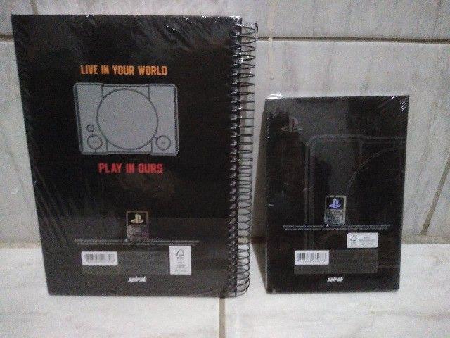 2 cadernos playstation lacrado novo + frete do brasil - Foto 2