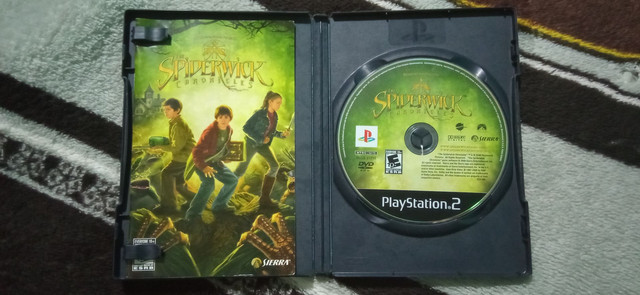 KIT JOGOS | THE SPIDERWICK CHRONICLES + SOCOM 3 U.S NAVY SEALS + BRINDE: MEMORY CARD 8MB - Foto 3