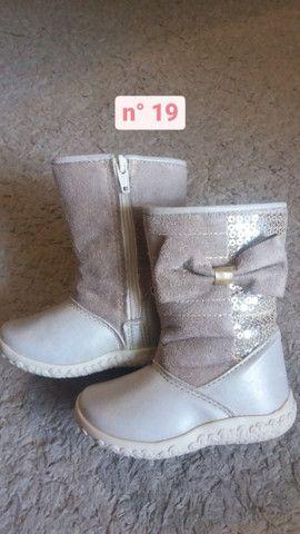 Calçados de menina nº19 - Foto 2