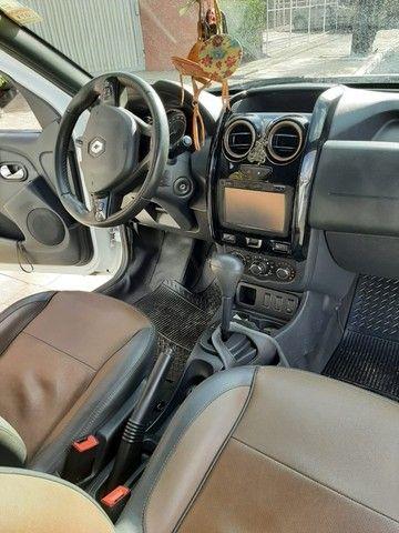 Renault Duster - branca - automático - único dono - Foto 3