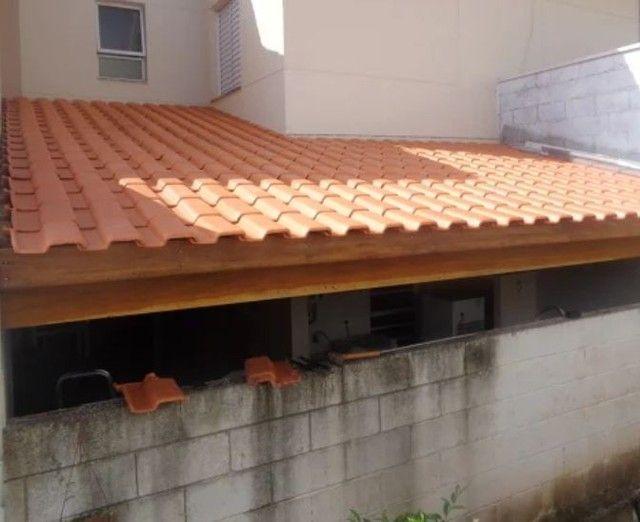 Sou pedreiro trabalho com telhados reboco pisos etc - Foto 4