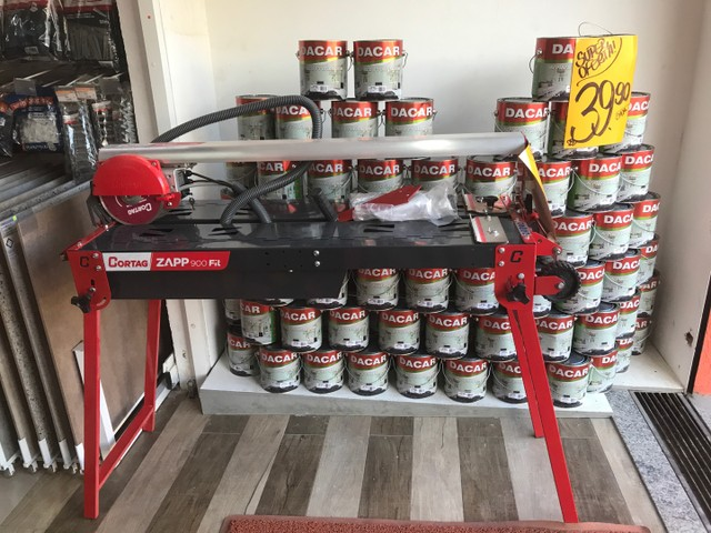 Cortador de piso e porcelanato elétrico Zaap 900 fit - Foto 2