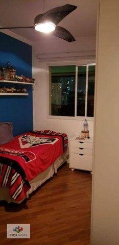 Apartamento com 4 dormitórios para alugar, 164 m² por R$ 5.500/mês - Tatuapé - São Paulo/S - Foto 13