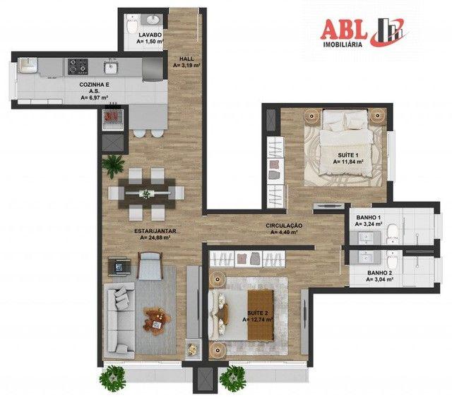 Apartamento Alto Padrão para Venda em Centro Gramado-RS - Foto 5