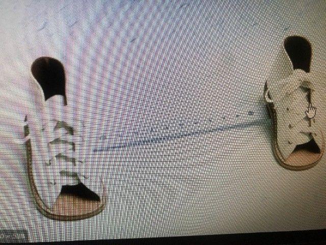 Bota ortopedica dennis brown, tamanho sapato 26 cm, barra aluminio regulavel