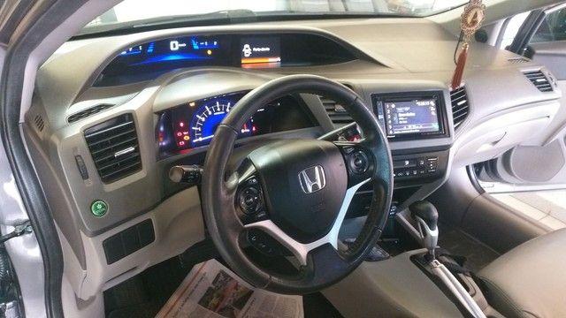 Civic 2.0 Lxr automático 2014 - Foto 10