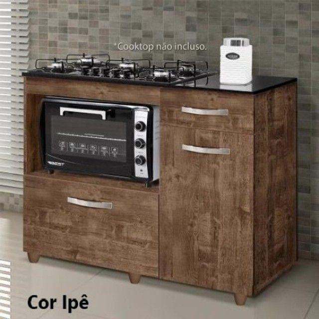 Balcão para cooktop de 5 bocas Violeta | NOVO - Foto 2