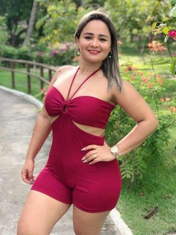 KIT 3 Peças - Composto por Conjunto, Macaquinho e Vestido (combo moda feminina) - Foto 3