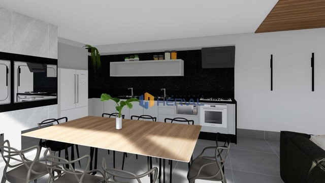 Casa com 3 dormitórios à venda, 235 m² por R$ 780.000,00 - Parque das Laranjeiras - Maring - Foto 5