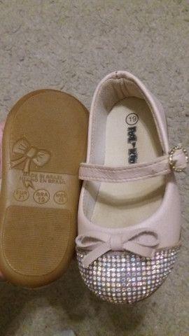 Calçados de menina nº19 - Foto 3