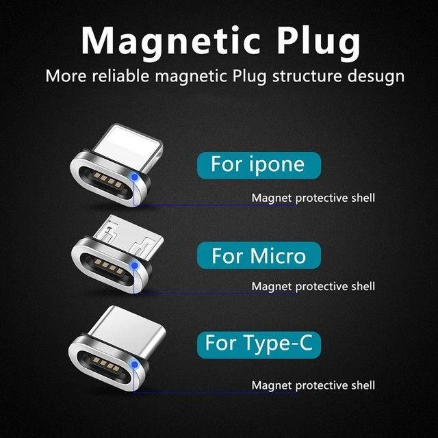Cabo USB Magnético Tipo - C - Foto 5