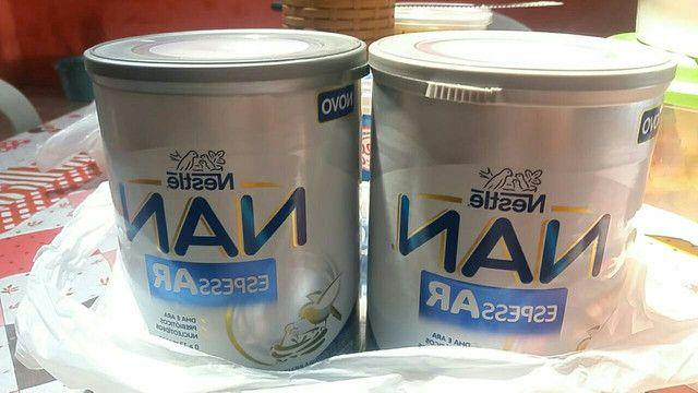 duas latas de Nan