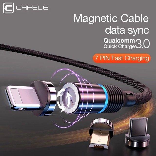 Cabo USB Magnético Tipo - C - Foto 4