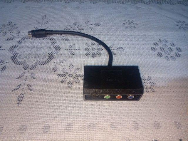 Adaptador 4 pinos S video Y Pr Pb/AV para S video - Foto 2
