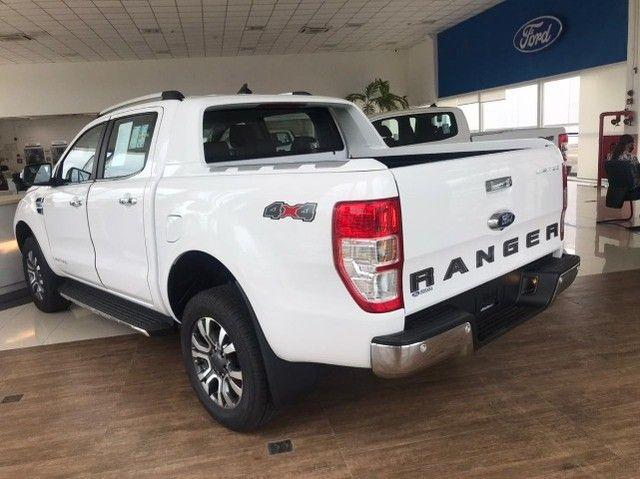 Ford Ranger Limited 3.2 Diesel 4x4 200hp zero km - Foto 9