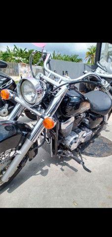 IMPERDÍVEL VT shadow 750 2006 muito conservada, tem manual e chave reserva - Foto 2