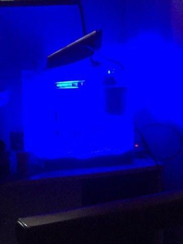Aquário marinho 28 litros - Foto 3