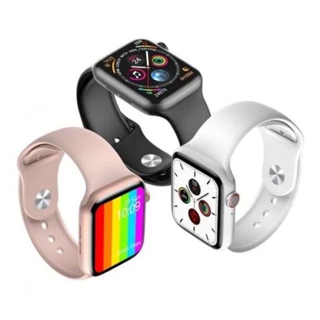Smartwatch Iwo 12 lite Pro Faz e recebe ligaçoes passa musicas - Foto 2