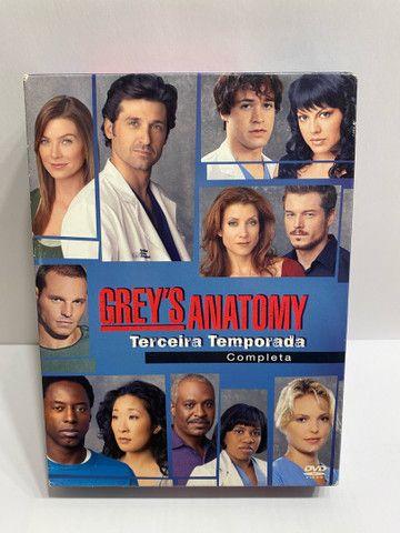 Greys Anatomy - 1, 2 E 3 Temporadas - Original - Foto 5