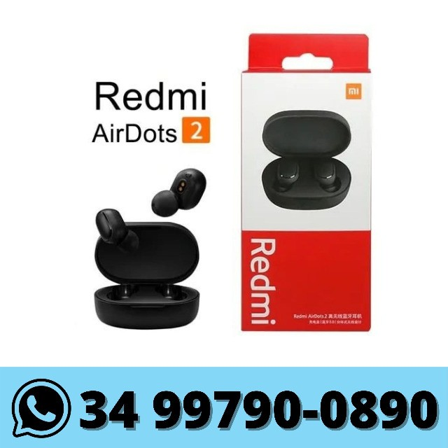 Fone Redmi AirDots 2 Original Xiaomi Bluetooth