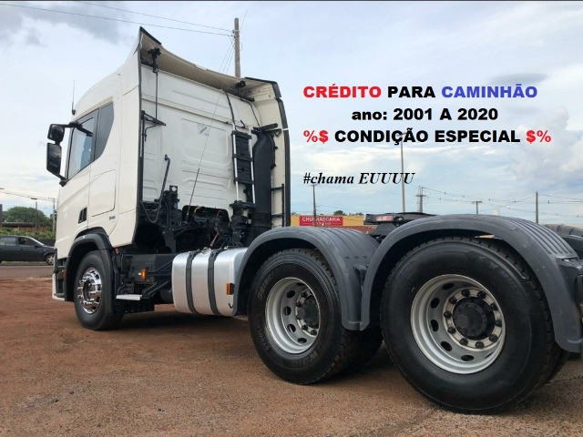 Scania g380 g420 volvo fh440 460 man iveco mercedes carretas - Foto 7