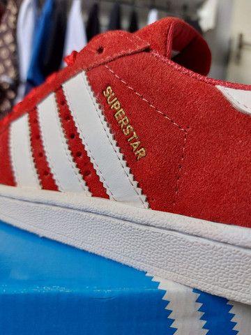 "Adidas Superstar ""Camurça"" - Foto 3"