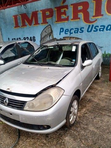 Renault Symbol Exp 1.6 2010 2011 Para Retirada de Peças - Foto 4