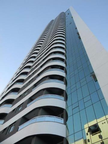 Apartamento em PontaNegra Mobiliado e Andar Alto