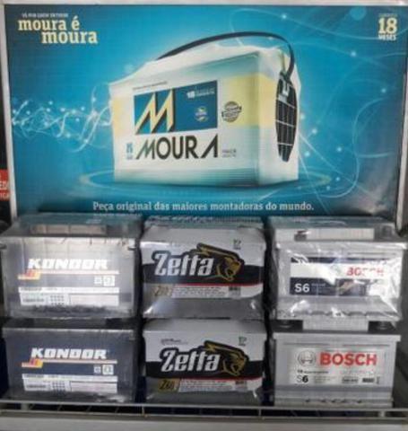 Bateria 60AH R$ 229.00
