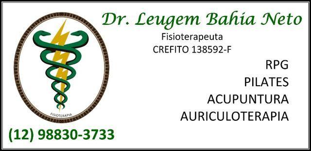 Dr Leugem Bahia Neto, Fisioterapeuta