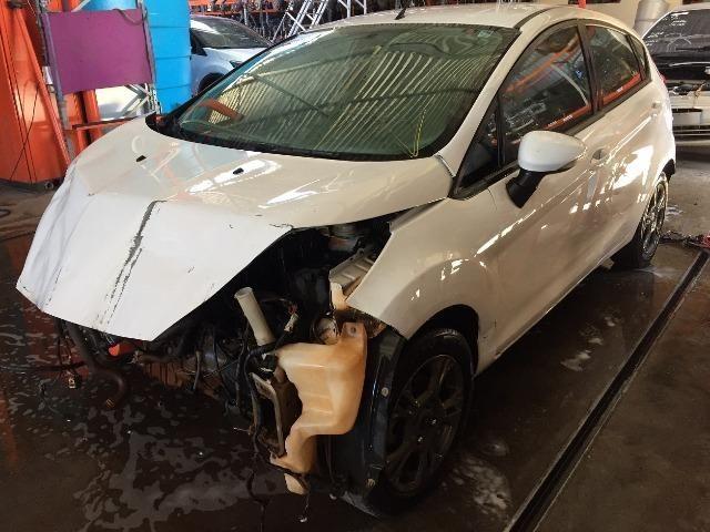 Peças usadas Ford New Fiesta 2013 2014 1.6 16v flex 130cv câmbio manual - Foto 2