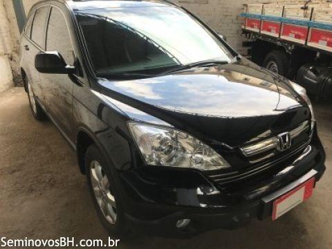 Honda CR-V 2.0 16V EX-L 4x4 2009 Preta - Foto 3