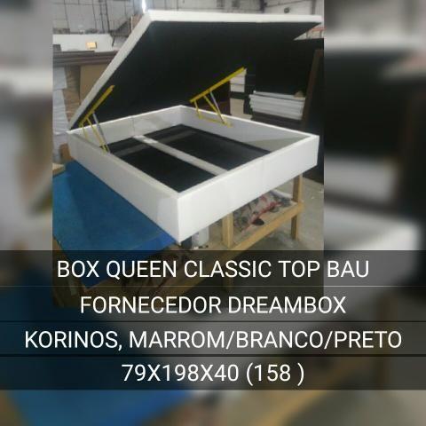 Box bau para colchão queen _ pronta entrega cód m 97y5v