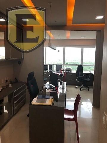 3225 - (3225) Sala no Office Tower, toda planejada com vista para Colares More... - Foto 3