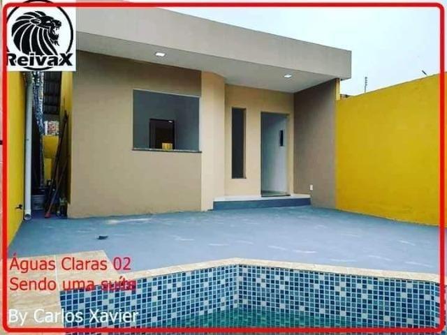 Casas no Águas Claras, 2 e 3 QTS (1suíte), piscina, 2 vagas, ótimo acabamento