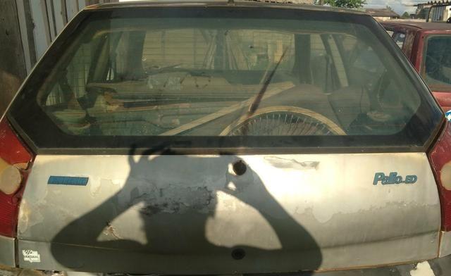 Portas,capô e tampa tampa traseira do palio 2 portas - Foto 4