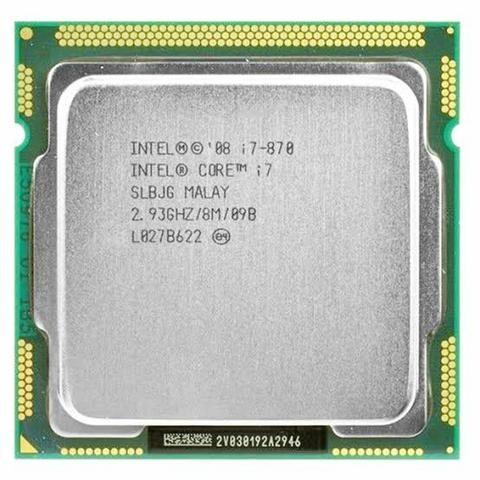 Processador Intel core i7 870 / 2.93~3.10 / 8mb