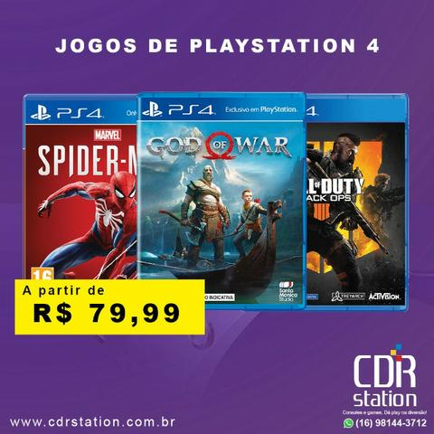 Jogos de PS4 Novos e Lacrados