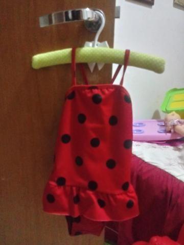 Vendo fantasia Joaninha