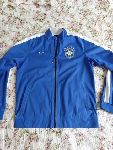 Casaco Azul Nike Seleção Brasileira Original - Roupas e calçados ... 83067ee2ba000