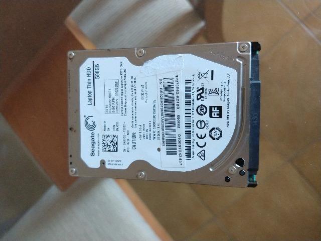 02 Hds Toshiba e Seagate de 500Gb Notebook 'Leiam o Anúncio