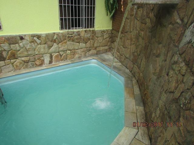 CA 0043 Casa c/ piscina, churrasqueira , 2 vagas , 2 dormitórios