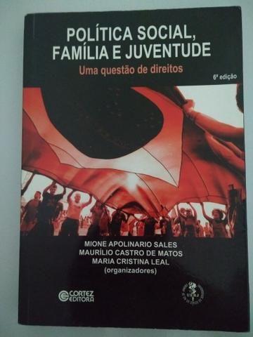 Livro Política Social, Família e Juventude