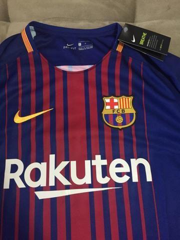 ba943c2d3d Camisa Barcelona Original - Roupas e calçados - Jardim Irajá ...