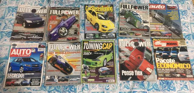 Revistas Automotivas Antigas